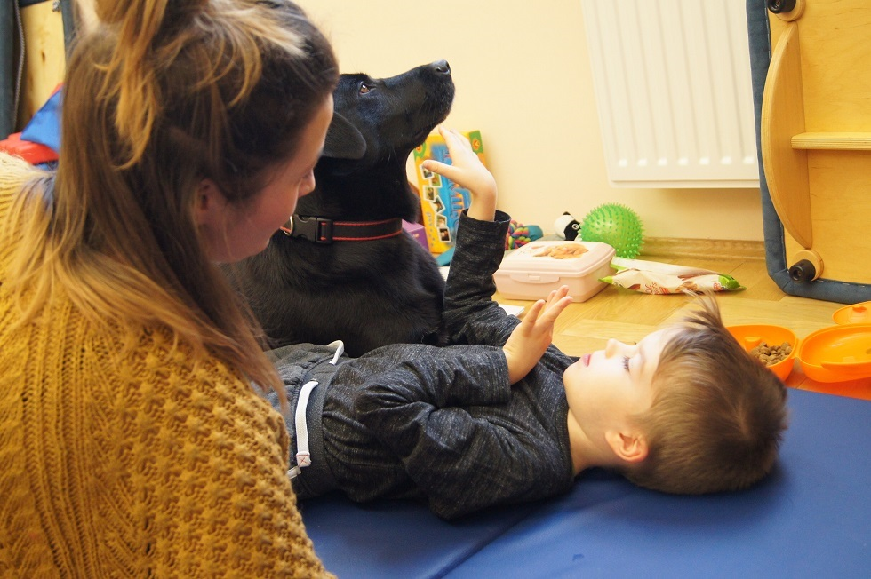 Zdjęcie z zajęć z dzieckiem